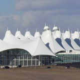 BY AIR: DENVER INTERNATIONAL AIRPORT