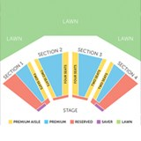 AMPHITHEATER SEATING CHART